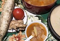朴实的白萝卜番茄汤的做法