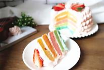 豆果5周年#彩虹蛋糕#的做法