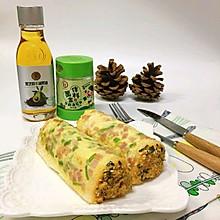 肉松卷-宝宝早餐