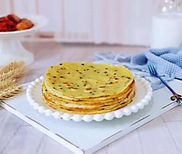 玉米面粉鸡蛋饼的做法