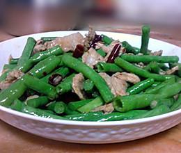 豆角炒肉的做法的做法
