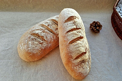 无油无糖的瑞士乡村面包
