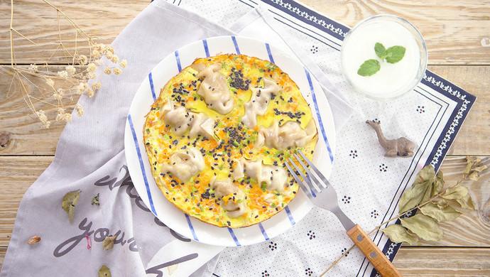抱蛋煎饺   太阳猫早餐