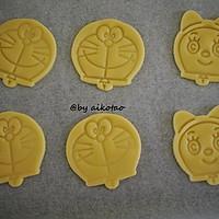 超简单的卡通曲奇饼干---哆啦A梦的做法图解8