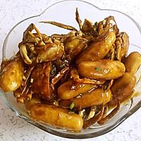 鉴定上海人的不二法门——毛蟹炒年糕的做法图解8