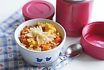 蕃茄鸡蛋宝宝蝴蝶面#膳魔师·妈妈的一粥一汤#的做法