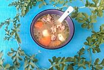 胡萝卜莲子百合鸡汤#肉食者联盟#的做法