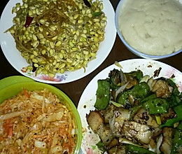 甘肃古浪美食——洋芋搅团的做法