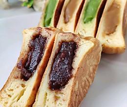 #麦子厨房#美食锅#三色车轮饼的做法
