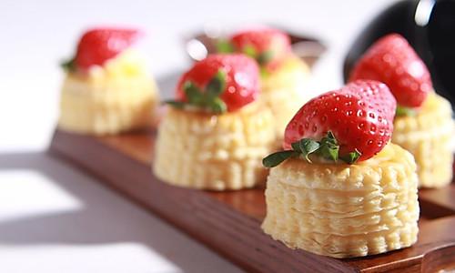 草莓酥塔的做法