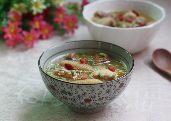 姬松茸竹笙鸡汤的做法