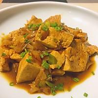 大葱烧豆腐的做法图解7