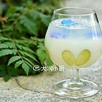 天空之境~酸奶燕窝#七彩七夕#的做法图解9