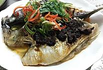 梅菜肉酱-梅菜蒸鱼的做法