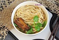 #憋在家里吃什么#宅家不缺食材和时间,做手擀面给家人吃得热乎的做法