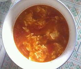 简单的番茄鸡蛋汤的做法