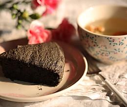 黑米芝麻糕的做法