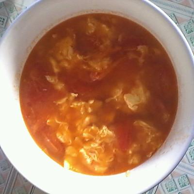 简单的番茄鸡蛋汤