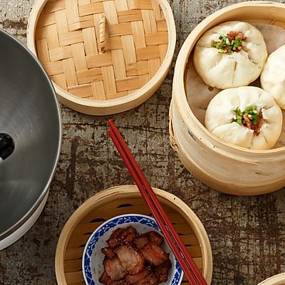 粤式早茶—叉烧包