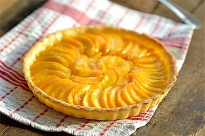 【番茄配方】黄桃乳酪派