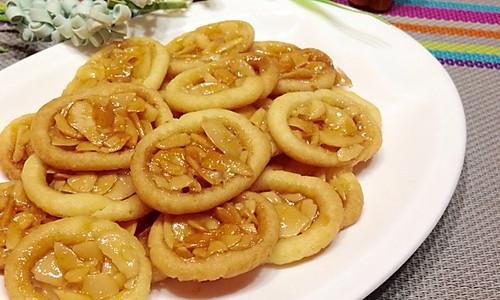罗马盾牌~杏仁饼干新吃法的做法