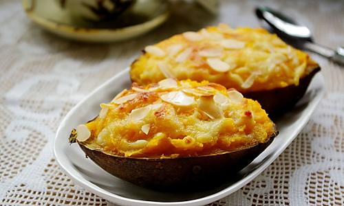 焗红薯的做法