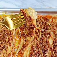万能烤箱菜酱汁❗️巨好吃烤金针菇❗️的做法图解8