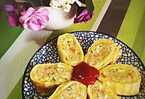 日式蛋包饭卷的做法