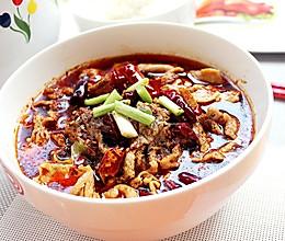 水煮肉片-冬季暖身的做法