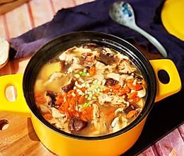 鸡肉蘑菇汤的做法