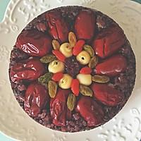芋泥紫米糕#发现粗食之美#的做法图解9