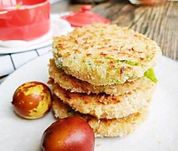 土豆丝胡萝卜青椒馅饼的做法