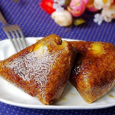 鲜肉蛋黄粽