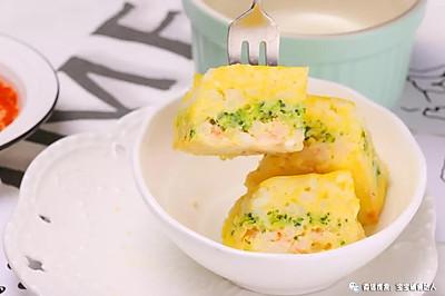 虾仁米饭蒸糕 宝宝辅食食谱