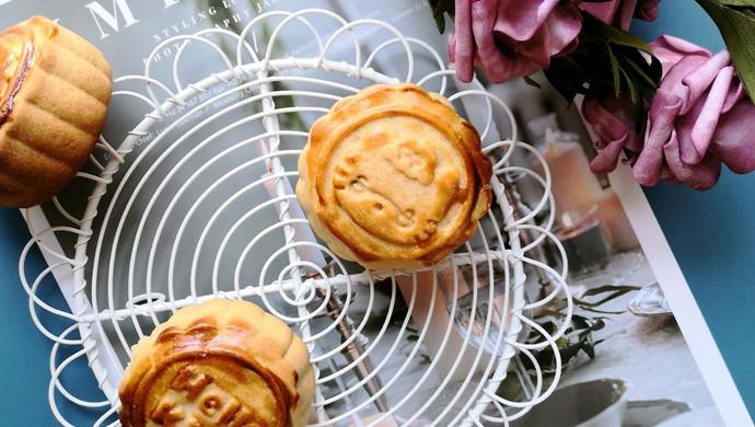 椰蓉蔓越莓月饼