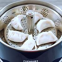 番茄虾仁鸡蛋水晶蒸饺#资深营养师#的做法图解14