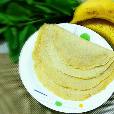 香蕉鸡蛋薄饼(无油)