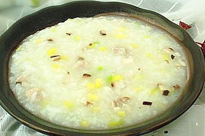 蔬菜瘦肉粥——冬季暖身