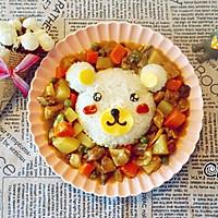 小熊咖喱牛腩饭#奇妙咖喱,拯救萌娃食欲#的做法图解18
