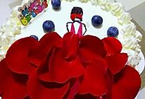 玫瑰生日蛋糕的做法