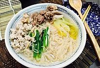 潮汕面线汤的做法