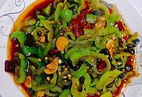 豆豉香炒辣椒圈的做法