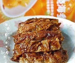 红烧豆腐皮包肉的做法
