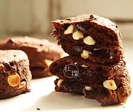 双重巧克力司康Double Chocolate Scone的做法