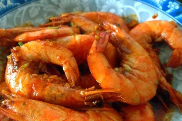 豉油王焗大海虾的做法