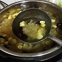莲子红枣银儿汤的做法图解12