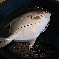 红烧鲳鱼的做法图解5