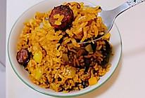 #吃货打卡季#腊肠焖饭的做法