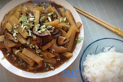 香菇炒土豆