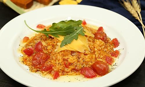 意式茄汁烩饭的做法